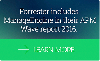 The Forrester Wave : Application Performance Managment, Q3, 2016